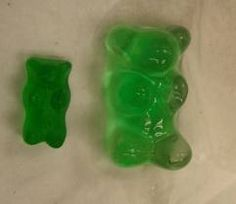 gummy bear lab report