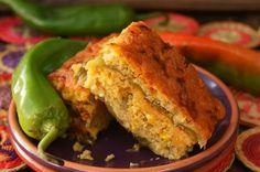 Roasted Hatch Chile Cornbread Casserole {Gluten-Free Recipe} – weekend recipes