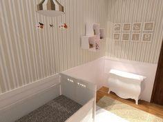 Baby room by Alice Tesch, Architecture and Urbanism student in Universidade Estácio de Sà.