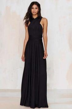 Voltage Multi Wear Maxi Dress - Black Friday