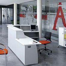 OFIMAT - Comptoir d'accueil adaptable en promotion | Comptoir et bureau d'accueil design et moderne