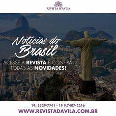 Além das habituais notícias de Indaiatuba você também pode acompanhar pela Revista D'Ávila notícias sobre o Brasil! . Acesse: http://ift.tt/1UOAUiP