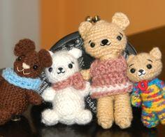 Cutie Bears Amigurumi Family Pattern