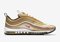 ae56a54a09674 Nike Air Max 97 Ultra 17 Metallic Gold 918356-700