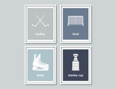 Hey, I found this really awesome Etsy listing at https://www.etsy.com/listing/188363512/childrens-wall-art-prints-hockey-baby