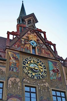 Astronomical Clock, Ulm, Germany