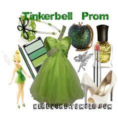 """Tinkerbell Prom"" created by #lizamazoo on #polyvore. #fashion #style Giuseppe Zanotti Anya Hindmarch"