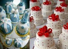 mini wedding cakes Individual Wedding Cakes Unlike cupcakes, these are actually individual wedding cakes. Not only are the cakes typically two-tiered but they are actually cakes that Individual Wedding Cakes, Mini Wedding Cakes, Individual Cakes, Mini Cakes, Cupcakes, Cupcake Cookies, Mini Tortillas, Beautiful Cakes, Amazing Cakes
