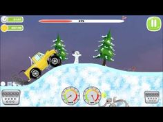 Offroad Jeep Racing On Arctic