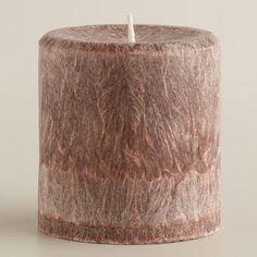 "3"" x 3"" Cinnamon Stick Pillar Candle"
