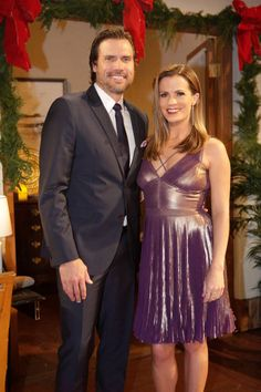 The Young and the Restless ~ Nick Anniversary Photos, 40th Anniversary, Melissa Claire Egan, Joshua Morrow, Sharon Case, Pixie Haircut For Thick Hair, Young And The Restless, Still Image, Movie Stars