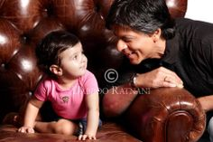 Srk WIth Dabboo Ratnani 's Daughter <3 <3 <3