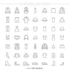 Clothes thin line icon pack , Dress Design Sketches, Fashion Sketches, Drawing For Kids, Drawing Tips, Icon Shoes, Face Proportions, Thin Line, More Icon, Icon Pack
