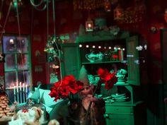 #Helsinki lokikirjani kulttuurista ja luonnosta : Lissää yökuvvausta Helsingissä. Stockan jouluikkuna Night photography at Helsinki, FI. More: Helsinki, Rocky Horror, Banks, Graffiti, Statue, Horror, Graffiti Artwork, Sculptures, Couches