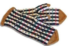 The Finnish ET magazine publishes Finnish county mitts with patterns related to each region's traditions. Here representing Uusimaa   Neulo värikkäät Uudenmaan lapaset   ET