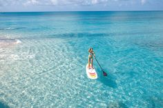 Learn how to paddle board
