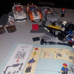 Builds coming along great!! #legotechnic #picoftheday #porsche #legoporsche #legogram #lego #gameroom #nyc #gamerlife #gamer #collector #awesome #instagood #fun #hobby #japan #hotwheels #porsche911 #magnuswalker #lootcrate #dccomics #games #videogames #awesome #speedchampions #builder @lego @porsche