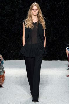 Vera Wang Spring 2015 Ready-to-Wear - Collection - Gallery - Look 1 - Style.com