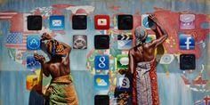 Scènes de vie africaines par Ali Hassoun - Pagnifik
