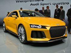 Audi Sport Quattro Concept revealed - 2013 Frankfurt Auto Show