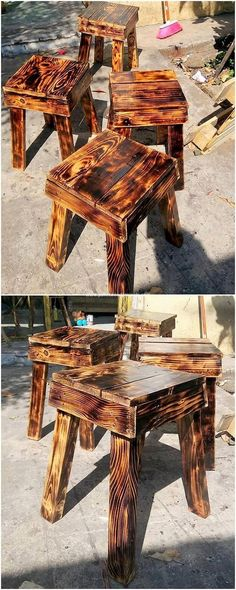 These days the trend of using the pallet for the furniture stools setting of the house has surely become one of the ultimate wish. It definitely bring about the elegant images in the house areas and this is what can help you to grab the attention of the customers for sure.
