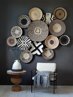 12 Inspiring Ways To Creatively Display Your Textile Collection – Lamour Artisans Natural Home Decor, Easy Home Decor, Handmade Home Decor, Handmade Furniture, Furniture Ideas, Modern Furniture, Cheap Furniture, Furniture Shopping, White Furniture