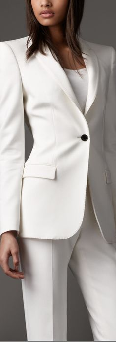 Burberry Minimal Tailored Jacket