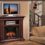 You can build a corner TV stand with fireplace inside your family room. The best room to place this corner TV stand with fireplace is in family room. Fireplace Heater Tv Stand, Corner Fireplace Tv Stand, Tv Over Fireplace, Fireplace Inserts, Fireplace Ideas, Propane Fireplace, Fireplace Modern, Gas Fireplaces, Fireplace Mantels