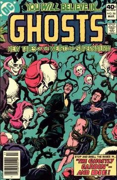 Ghosts #86 - The Ghostly Garden / The Ferryboat Phantom / The Spirit in the Flying Coffin