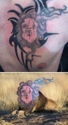 Bad Tattoos, Tatoos, Tatoo Fail, Funny Tattoos Fails, Terrible Tattoos, Face Swaps, Vida Real, Tattoo Artists, Tattoo Designs