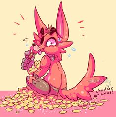 Chocolate coins by Pumpkinfay on deviantART