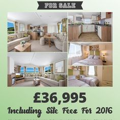 ARRIVING SOON........... 2016 Willerby Rio Premier - 2 Bedroom  GREAT VALUE AT JUST £36,995 including Site Fees For 2016 01766 512210  www.garreggochpark.co.uk
