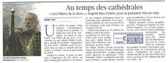 """""""Au temps des cathédrales"""" (Le Figaro)"""