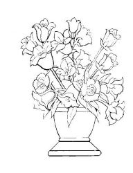 Plansa De Colorat Flori 10 Detailed Coloring Pages Coloring