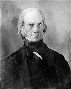 Daguerreotype portrait photo of Republican Senator Henry Clay from Kentucky. Clay also served as U.S. Secretary of State and ran for president in 1824, 1832 and 1844.