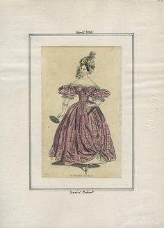 Ladies' Cabinet v. 16, plate 125 April, 1835