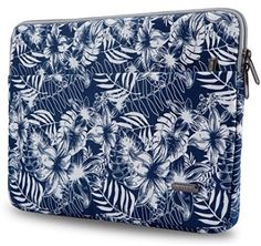Aestee 13-13.3' Big Flower Canvas Fabric Laptops Sleeve Case For New MacBook 13
