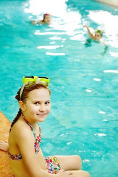 Outdoor escapades for you and your friends Swimming laps at the pool is fantastic exercise for your whole body. Wear SPF 15 for sun protection that will still get you a tan.