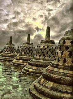 Borobudur Temple, Jogjakarta, Indonesia