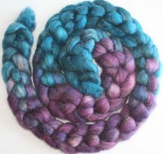 by Ulljente on Etsy Stormy Sea, Purple Rain, Merino Wool Blanket, Spinning, Fiber, Felt, Hand Painted, Hands, Etsy