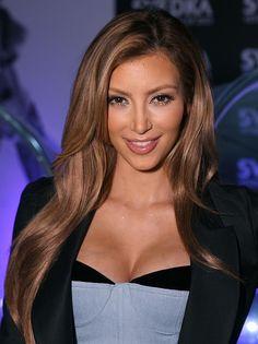 Celebrity Lookbooks: Kim Kardashian at Brent Bolthouse Photography Exibit, LA #popular #pinterest