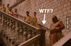 I just saw this in game of thrones...wtf