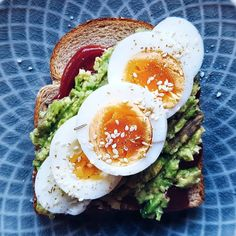 Avocado Toast 💛 Happy Morning, Avocado Toast, Bbq, Food And Drink, Breakfast, Barbecue, Morning Coffee, Barrel Smoker