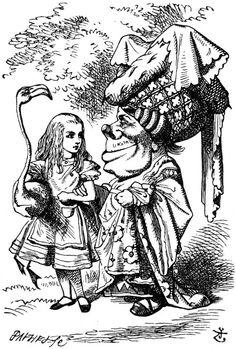 John Tenniel from Alice's Adventures in Wonderland : Chapter Nine