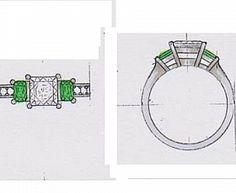 Your perfect diamond is only a few steps away. At Romain Diamonds, we simply the diamond buying process for you. Deal with reputable diamond experts! Silver Claddagh Ring, Claddagh Rings, Birth Month, Designer Engagement Rings, Beautiful Rings, Ring Designs, Pretty Engagement Rings