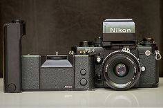 Nikon F3 AF SLR + AF Finder DX-1 + MD-4 Motor + NIKKOR 50mm 1:2