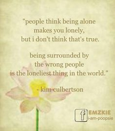 Poopsie » People think being alone makes you lonely