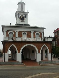 Old slave market in downtown Fayetteville,  NC