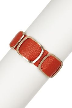 Buckle Leather Bracelet