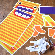 Cutting out Monster Laundry Bag yardage